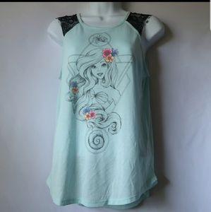 Disney Little Mermaid Ariel Top